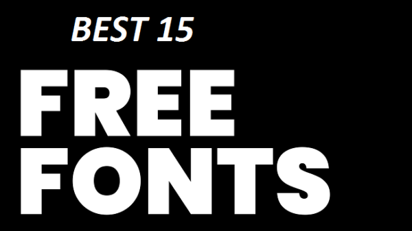 15 Best Free Fonts Designers Should Download
