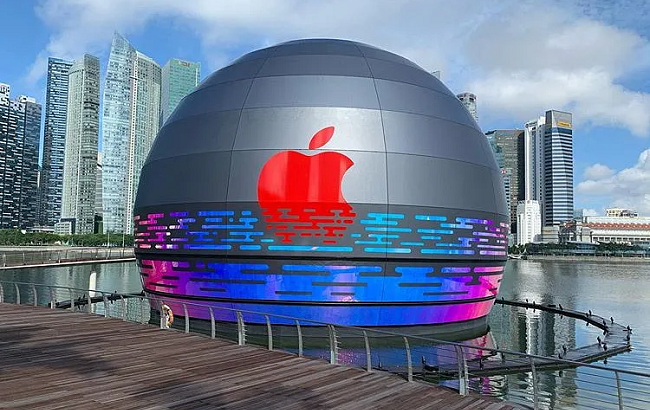 Apple Set to Open World's First Floating Store in Singapore