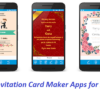 Party Invitation Card Maker Apps For Your Android Phones