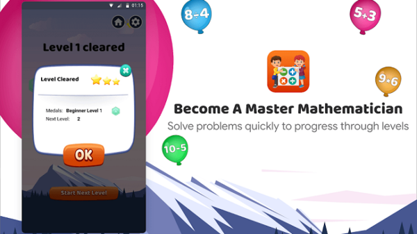 Best Learning App: KidsMath App